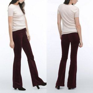 ADRIANO GOLDSCHMIED The JANIS Wine High-rise Jeans